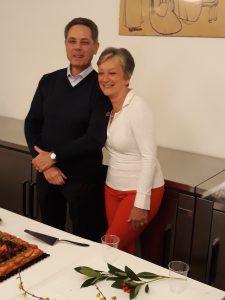 Festa per il pensionamento di Elisabetta e Renato